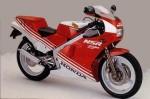 Информация по эксплуатации, максимальная скорость, расход топлива, фото и видео мотоциклов NSR250R (MC16) (1987)
