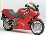 Информация по эксплуатации, максимальная скорость, расход топлива, фото и видео мотоциклов VFR750F RC36 (1990)