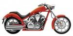 Информация по эксплуатации, максимальная скорость, расход топлива, фото и видео мотоциклов VT1300CXA Fury (2011)