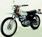 Информация по эксплуатации, максимальная скорость, расход топлива, фото и видео мотоциклов XL250 (1972)