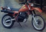 Информация по эксплуатации, максимальная скорость, расход топлива, фото и видео мотоциклов XL600R (1983)
