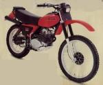 Информация по эксплуатации, максимальная скорость, расход топлива, фото и видео мотоциклов XR250R (1979)