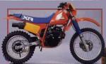 Информация по эксплуатации, максимальная скорость, расход топлива, фото и видео мотоциклов XR250R (1983)
