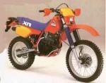 Информация по эксплуатации, максимальная скорость, расход топлива, фото и видео мотоциклов XR350R (1984)
