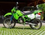 Информация по эксплуатации, максимальная скорость, расход топлива, фото и видео мотоциклов KDX 125 (1990)