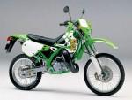 Информация по эксплуатации, максимальная скорость, расход топлива, фото и видео мотоциклов KDX 125R (2002)