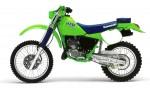 Мотоцикл KDX 200 (1988): Эксплуатация, руководство, цены, стоимость и расход топлива