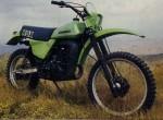 Мотоцикл KDX 400 (1979): Эксплуатация, руководство, цены, стоимость и расход топлива