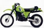 Мотоцикл KDX 450 (1980): Эксплуатация, руководство, цены, стоимость и расход топлива