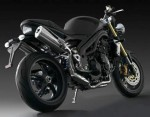 Speed Triple Matt Black (2008)