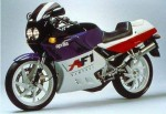 Информация по эксплуатации, максимальная скорость, расход топлива, фото и видео мотоциклов AF1 125 Sintesi (1988)