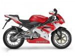 Мотоцикл RS125 Rosso Fluo (2008): Эксплуатация, руководство, цены, стоимость и расход топлива