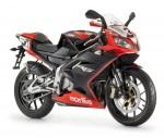 Мотоцикл RS125 Max Biaggi Black (2009): Эксплуатация, руководство, цены, стоимость и расход топлива
