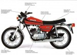 Мотоцикл 125TC (1979): Эксплуатация, руководство, цены, стоимость и расход топлива