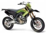 Информация по эксплуатации, максимальная скорость, расход топлива, фото и видео мотоциклов BX570 Motard (2008)