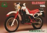 Мотоцикл Elefant 200 (1985): Эксплуатация, руководство, цены, стоимость и расход топлива