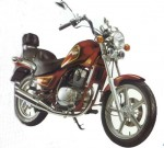 Мотоцикл GV 125 Cruiser II (2004): Эксплуатация, руководство, цены, стоимость и расход топлива