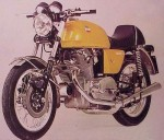 Информация по эксплуатации, максимальная скорость, расход топлива, фото и видео мотоциклов 750SF2 (1974)