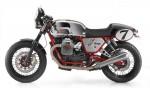 Информация по эксплуатации, максимальная скорость, расход топлива, фото и видео мотоциклов V7 Clubman Racer (2010)
