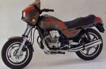 Информация по эксплуатации, максимальная скорость, расход топлива, фото и видео мотоциклов V 75 (1985)