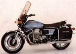 Информация по эксплуатации, максимальная скорость, расход топлива, фото и видео мотоциклов V1000 I Convert (1975)