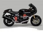 Информация по эксплуатации, максимальная скорость, расход топлива, фото и видео мотоциклов V11 Le Mans Nero Corsa (2002)