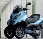 Мотоцикл MP3 250 (2006): Эксплуатация, руководство, цены, стоимость и расход топлива