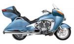 Информация по эксплуатации, максимальная скорость, расход топлива, фото и видео мотоциклов Vision Tour Premium (2008)