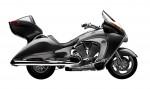 Информация по эксплуатации, максимальная скорость, расход топлива, фото и видео мотоциклов Vision Tour (2009)