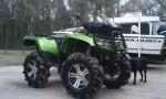 Информация по эксплуатации, максимальная скорость, расход топлива, фото и видео мотоциклов Mud Pro 700 (2011)