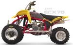 Мотоцикл ECX70 (2009): Эксплуатация, руководство, цены, стоимость и расход топлива