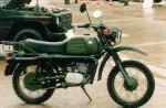 Мотоцикл K 180 Military (1991): Эксплуатация, руководство, цены, стоимость и расход топлива