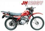 Мотоцикл JH 125 GY (2008): Эксплуатация, руководство, цены, стоимость и расход топлива