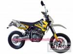Информация по эксплуатации, максимальная скорость, расход топлива, фото и видео мотоциклов Falcon CR125 Motard (2011)
